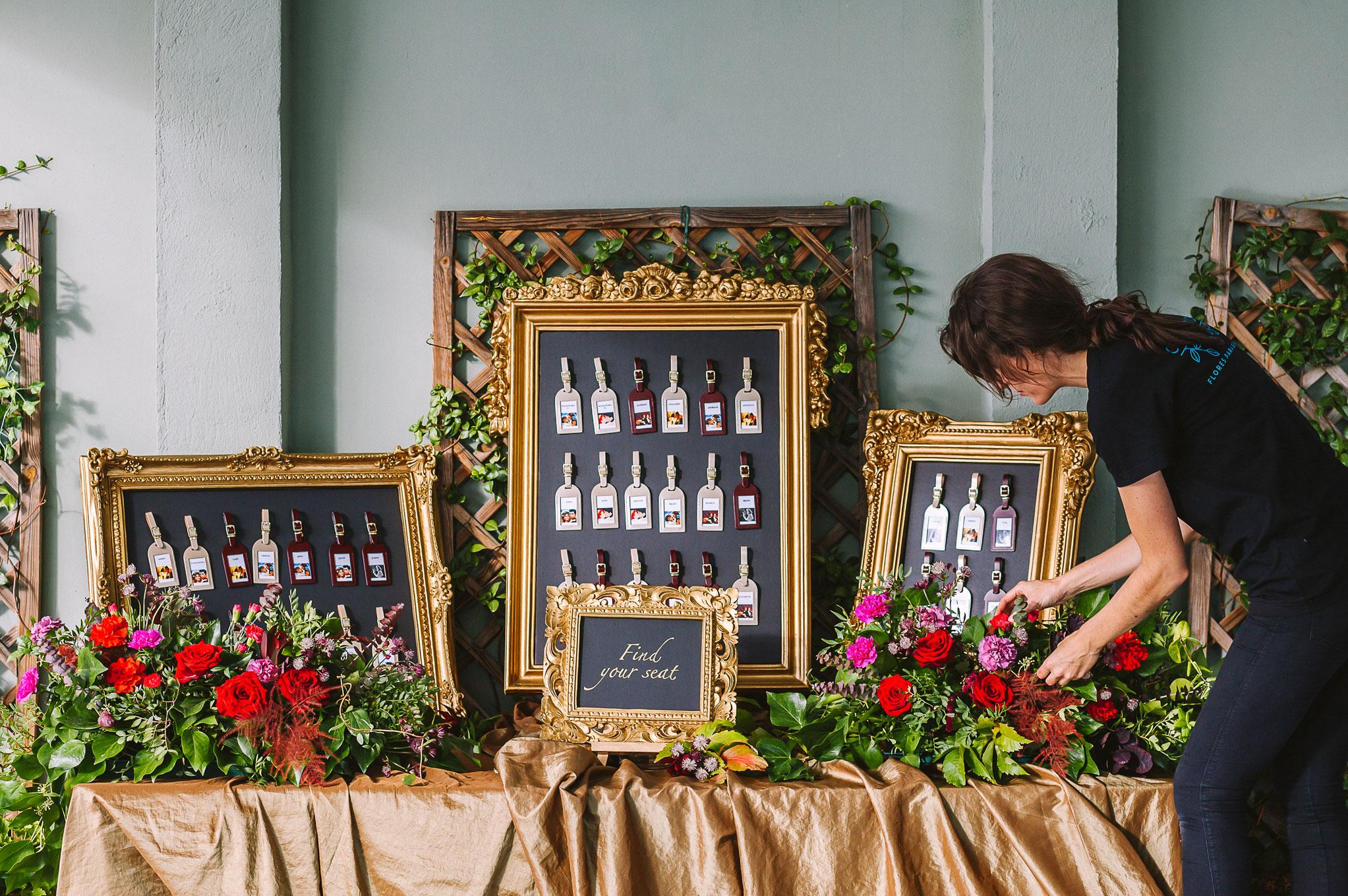 Arbolande decoración floral eventos protocolo Neima Pidal